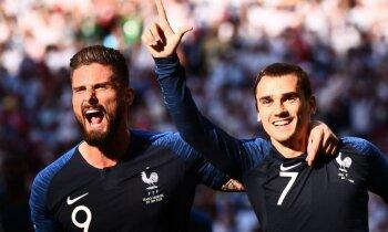 Francijas futbolisti skaistā stilā apbēdina Mesi un Argentīnu