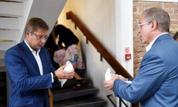 Ušakovs un Ameriks apstiprina startēšanu Eiroparlamenta vēlēšanās