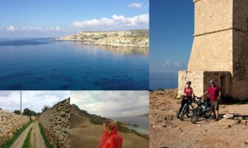 Aizbēgt no ziemas un aukstuma. Meitas un tēta piedzīvojumi saulainajā Maltā
