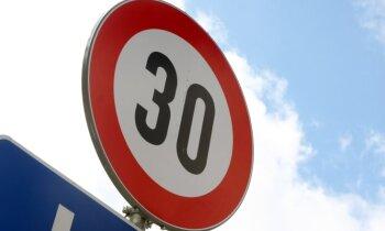 Pērn gandrīz 76 000 gadījumos ātrumpārkāpēji palikuši nesodīti