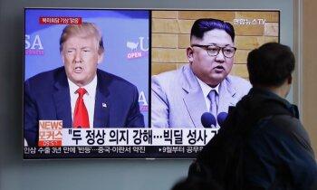 Trīs iemesli, kādēļ Trampa-Kima samits varētu nenotikt