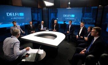 'Delfi TV ar Jāni Domburu' - diskusija 'Kas (ne)mainīsies Rīgā pēc domes vadības maiņas?'
