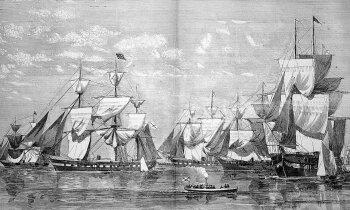 Atskats vēsturē: Kā Krievijas impērijas spēki Amerikā stājās pretī konfederātiem