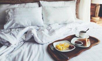 Brokastīs, lūdzu, četras paipalu olas un 'smaržīgā' siera karstmaizīti ar aveņu zapti!