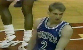 Atskats vēsturē: Gundara Vētras gūtie punkti NBA