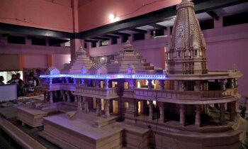 Indijā priekšvēlēšanu karstumā miljoni pieprasīs mošejas vietā celt Rāmas templi