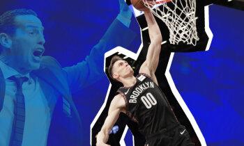Uzlecošā zvaigzne Kurucs apžilbina kā līgu, tā 'Nets' treneri