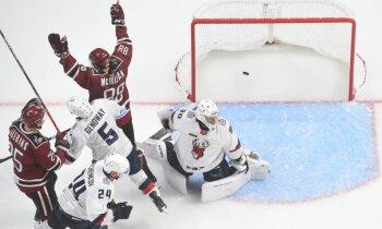 Gudļevska 'sausā' spēle un Makmilana goli kaldina Rīgas 'Dinamo' otro uzvaru