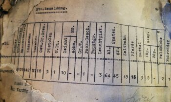 Kurzemē atrasta vēl viena kaste ar Latviešu leģiona dokumentiem