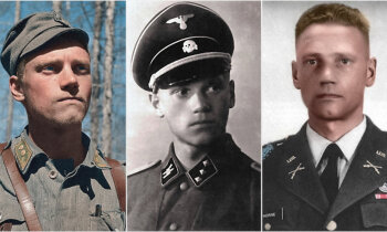 Dzimis karavīrs – soms dien 'Waffen SS' un kļūst par ASV nacionālo varoni