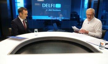 'Delfi TV ar Jāni Domburu' atbild Mārtiņš Staķis: gads Rīgas mēra amatā. Pilns ieraksts