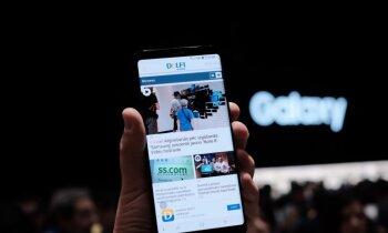 'Delfi' no Ņujorkas: Ar vērienu prezentēts jaunais 'Galaxy Note 8'