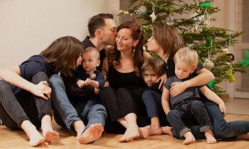 Sešu dēlu mamma Inese: bērni ir dāvana, kas tev nepieder
