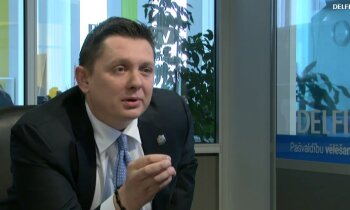 Артусс Кайминьш на Delfi TV: