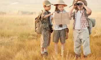 Noķert vasaru aiz astes! Idejas skaistiem mirkļiem ar bērniem