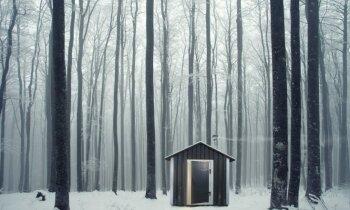 Kad mazāk ir vairāk – Latvijā ražotas miniatūras saunas, kas saliekamas kā paneļu mājas