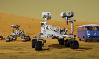 Mehanizētie zemieši uz Marsa: zondes un roveri, kas iepazīst sarkano planētu