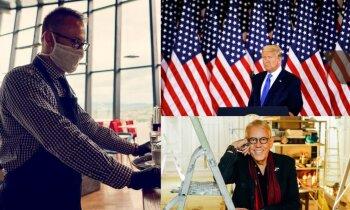 'Delfi plus': prezidents aiz okeāna, Covid-19 un baudas vēderam