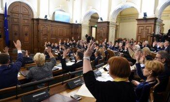 Saeima apstiprina valdības rīkojumu par ārkārtējo situāciju Rīgā atkritumu apsaimniekošanā