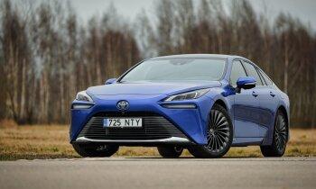 Latvijas apstākļos eksotiskāks par superkāru – ar ūdeņradi darbināms auto