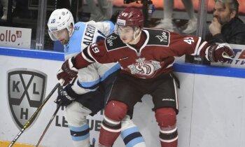 Rīgas 'Dinamo' kaunpilnās sezonas izskaņā ielaiž četrus vārtus pēc kārtas