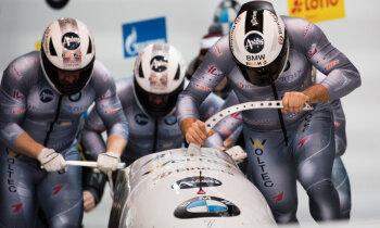 Ķibermaņa četriniekam trešais sudrabs pēc kārtas, Bērziņam sezonas rekords