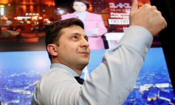 Ukraiņi Latvijā vēlēšanās dod priekšroku aktierim Zelenskim