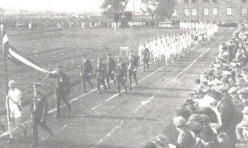 Latvijas sporta vēsture: Latvijas pirmā olimpiāde