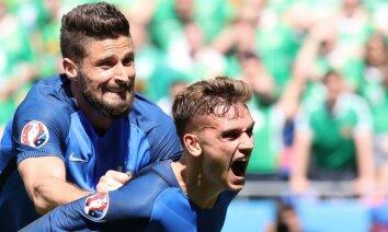Grīzmans atzīts par EURO 2016 labāko spēlētāju