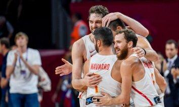 Spāņu basketbola leģenda Navarro: esmu lepns noslēgt savas gaitas izlasē ar godalgu