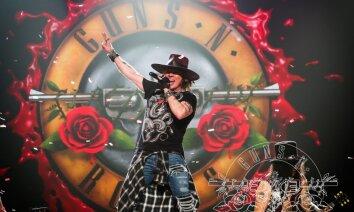 'Guns N' Roses' nākamgad ar brīvdabas šovu uzstāsies Tallinā