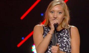 Video: Rīdziniece Diāna apžilbina ukraiņu 'X-Factor' žūriju