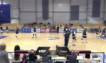 Video: 'OlyBet' basketbola līga - 'VEF Rīga' pret 'Liepāja'. Spēles pilns ieraksts