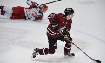 'Rīgas' hokejisti piekāpjas Maskavas 'Krasnaja armija' vienībai