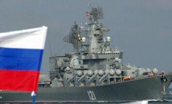 Netālu no Latvijas teritoriālajiem ūdeņiem piektdien manīti Krievijas bumbvedēji un karakuģi