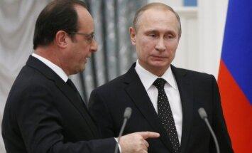 Олланд готов встретиться с Путиным в любое время