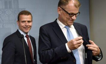 Somijas premjerministrs vēlas pārtraukt koalīciju ar eiroskeptiķu partiju
