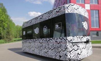 Krievijā radīts pirmais bezpilota autobuss 'Volgabus'