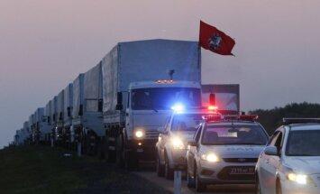 Krievijas 'humānā kolonna' pazudusi nezināmā virzienā, paziņo Porošenko padomnieks