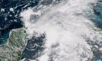 Atlantijas okeānā novērota sezonas pirmā viesuļvētra