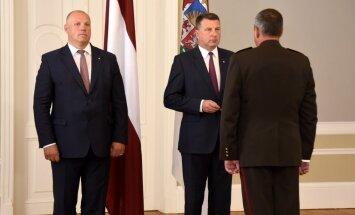 Vējonis: Latvijas armija attīstās pareizā virzienā