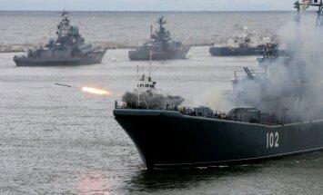 Krievijas karakuģi no Kaspijas jūras uz Sīriju izšāvuši 26 raķetes