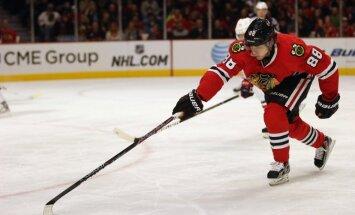 Čikāgas 'Blackhawks' turpina savu rekordsēriju NHL