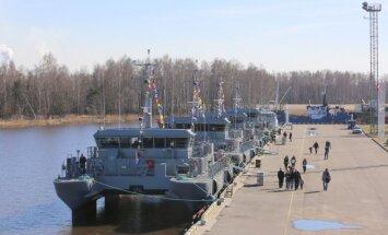 Pieci NATO karakuģi Latvijas teritoriālajos ūdeņos varētu ienākt maija sākumā