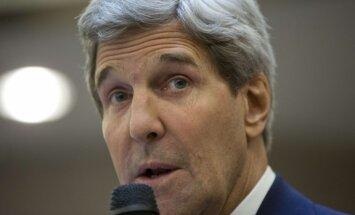 ASV un Krievijai ir domstarpības par Ukrainas konfliktu, paziņo Kerijs