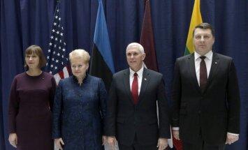 Вейонис: сотрудничество стран Балтии и США остается неизменно мощным