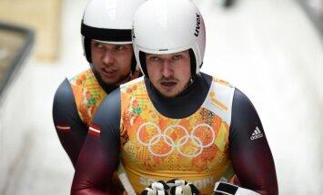 Brāļi Šici pikti par gatavošanos pasaules čempionātam Siguldas trasē