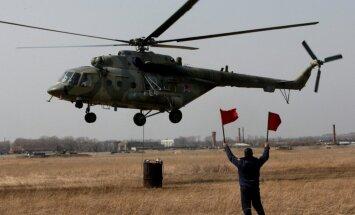 Murmanskā avarējis 'Mi-8' helikopters ar augsta ranga ierēdņiem