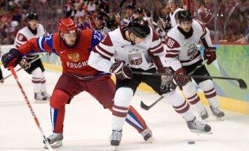 Krievijas izlasi spēlēs pret Latviju pastiprinās vairāki pieredzējuši hokejisti