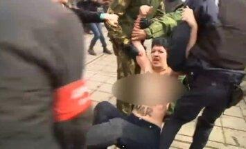Krimā pēc piekaušanas pazudušas divas 'Femen' aktīvistes